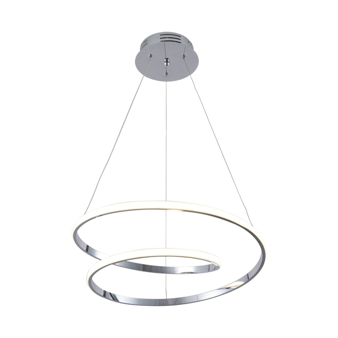 Hanging lamp K-8047 from the ILUSION CHROM series