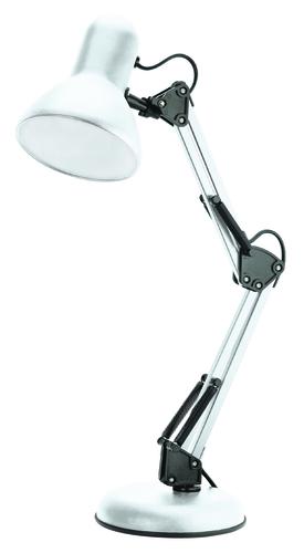Lampa biurkowa Pixie 230V/25W E27 biały