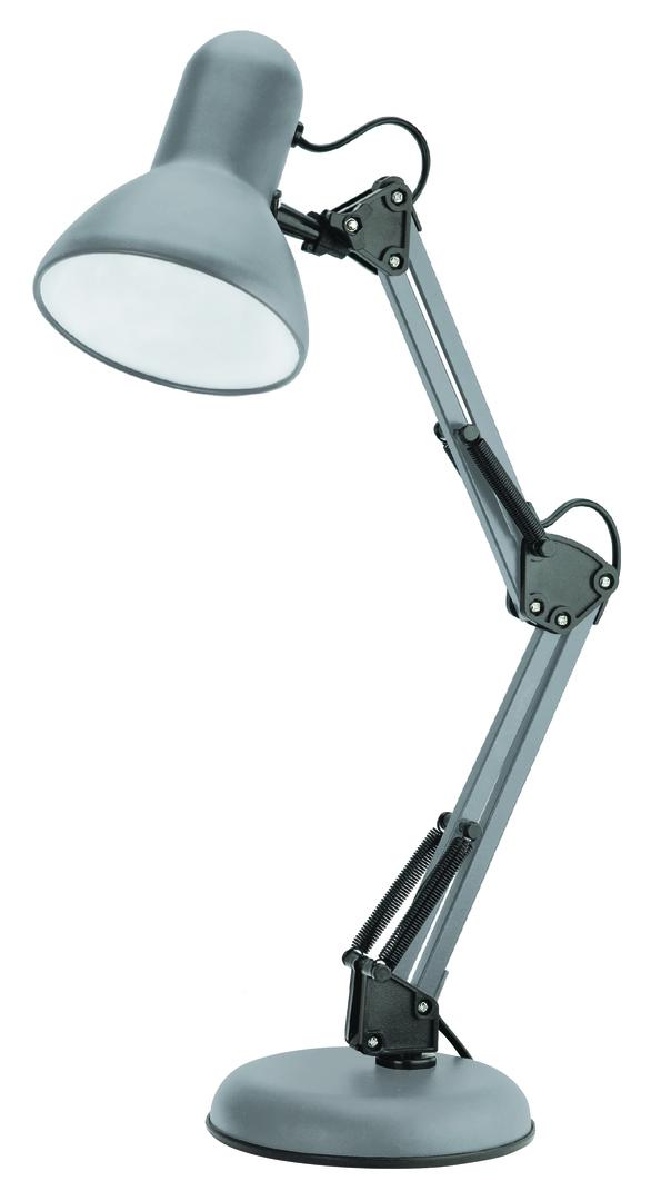 Desk lamp Pixie 230V / 25W E27 gray