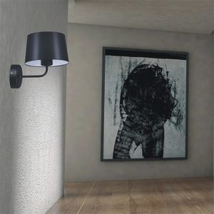 Wall lamp K-4351 from the REMI BLACK series small 2