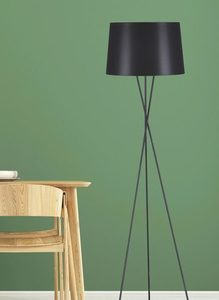 Floor lamp K-4353 from the REMI BLACK series small 3