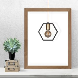 Hanging lamp K-4720 from the HONEY series small 6