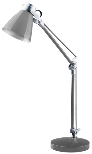 Lampa biurkowa Sophie 230V/25W E14 szary
