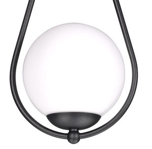 Hanging lamp K-4772 from the NEVE BLACK series small 2
