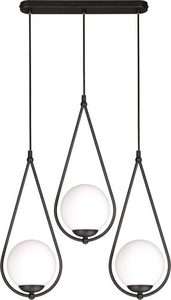 Hanging lamp K-4772 from the NEVE BLACK series small 0