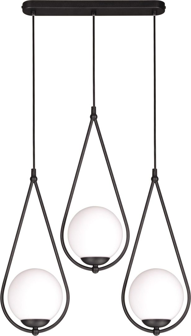 Hanging lamp K-4772 from the NEVE BLACK series