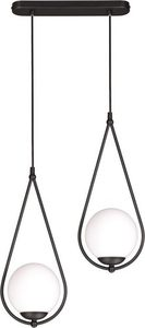 Hanging lamp K-4771 from the NEVE BLACK series small 0