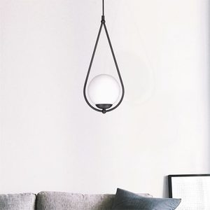 Hanging lamp K-4770 from the NEVE BLACK series small 5