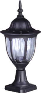 Low external K-5007S2 / N black standing lamp from the Vasco series