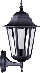 Outdoor wall lamp K-5006A UP black from the LOZANA series small 0