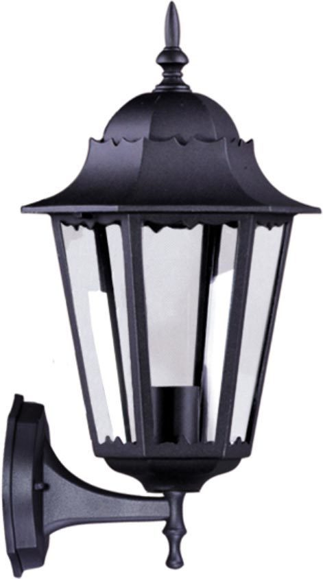 Outdoor wall lamp K-5006A UP black from the LOZANA series