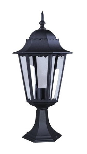 Low outdoor K-5006S black standing lamp from the LOZANA series