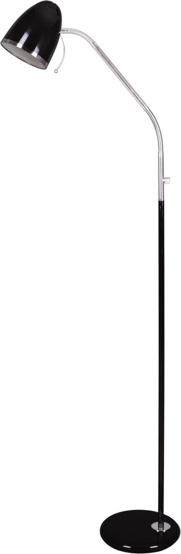 Black K-MT-201 floor lamp from the KAJTEK I series