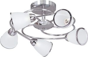 K-JSL-6059/5 CHR ceiling lamp from the PLATO I series small 0