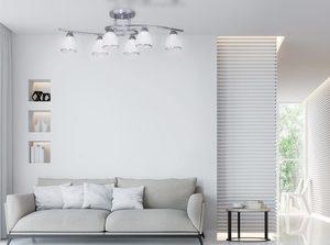 K-JSL-8090/6 CHR ceiling lamp from the SAMIRA series small 2