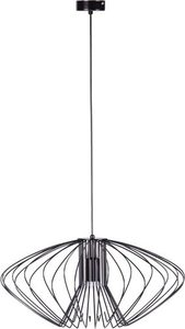 Hanging lamp K-3407 black from the TIZI series small 0
