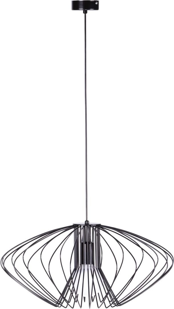 Hanging lamp K-3407 black from the TIZI series