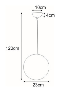 Hanging lamp K-OP-9043S from the MARIT series small 1
