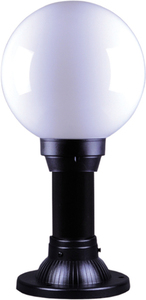 Low outdoor standing lamp K-ML-OGROD 200 0.2 KL. OPAL from the ASTRID series small 0