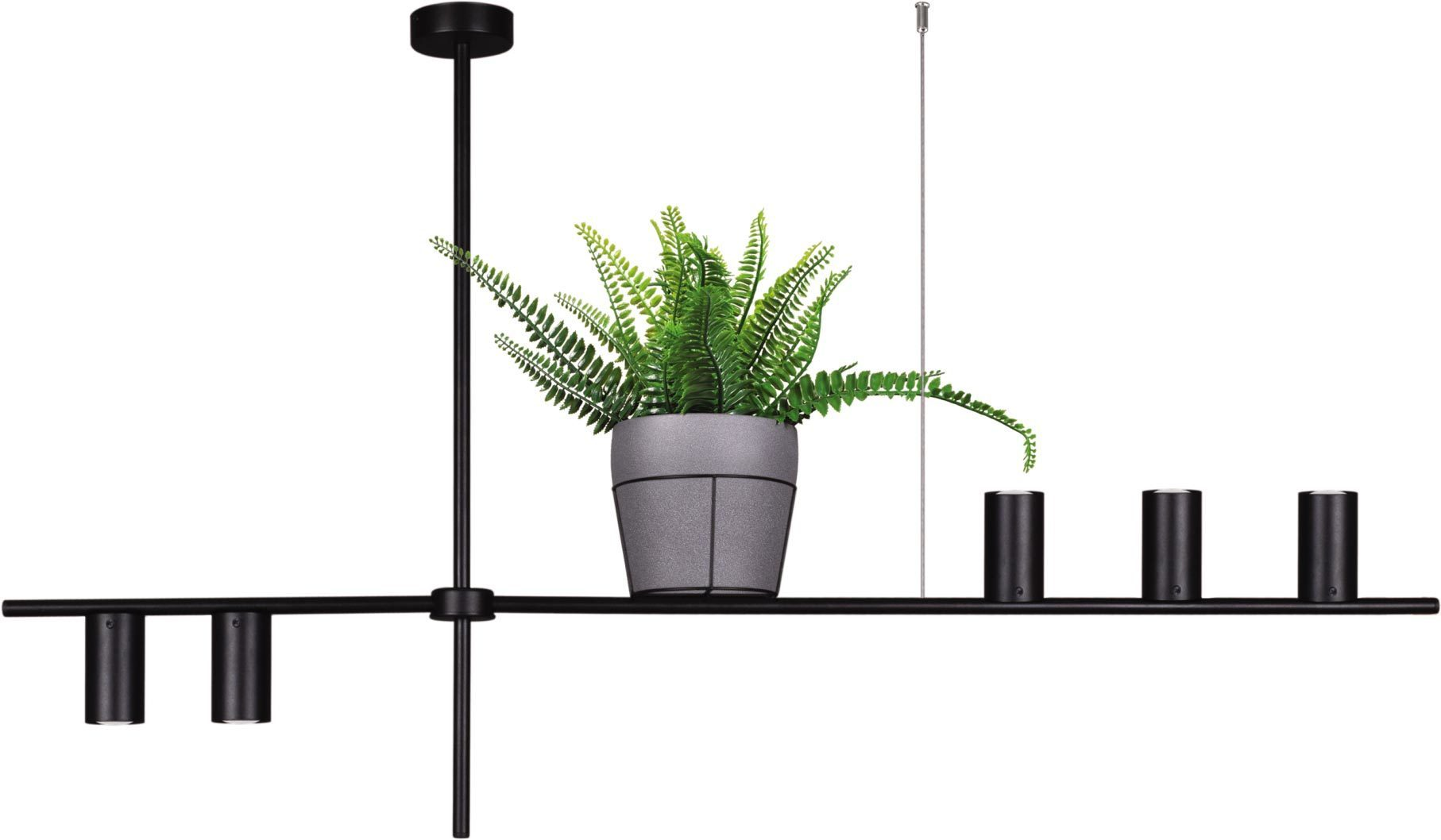 Hanging lamp K-4756 with a flowerbed from the ROCCO series