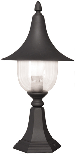 Low K-8133 black outdoor standing lamp from the BOSTON series