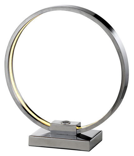 Circle Cabinet Lamp 9W Led Chrome