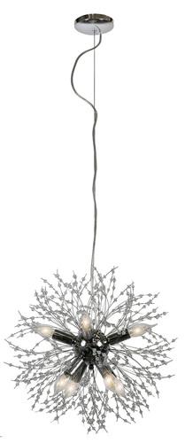Capella Hanging Lamp 40 8X40W E14 Chrome