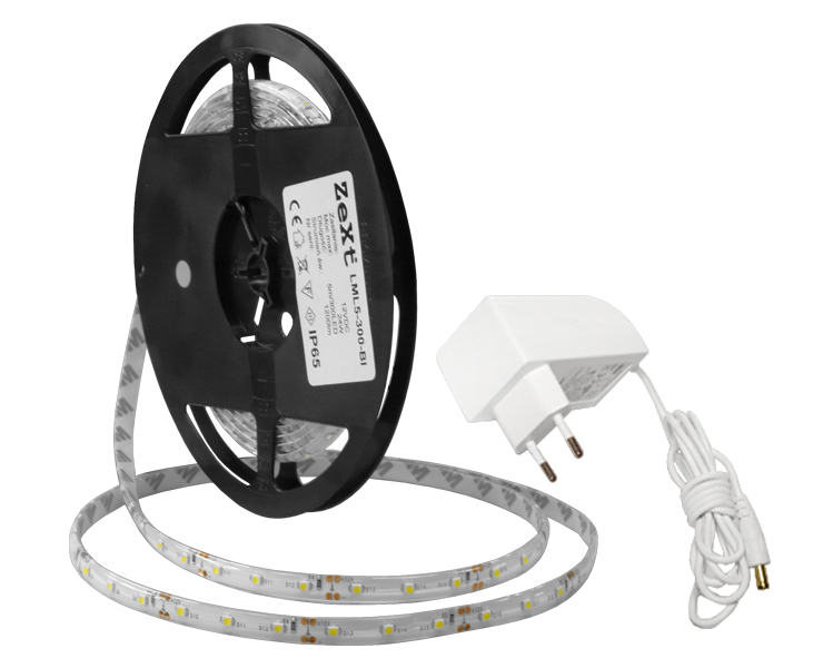 LED strip Linear module 300LED 5M IP65 2700K with 2A power supply