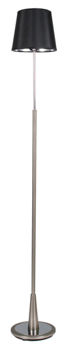 Milonga Floor Lamp 1X60W E27 Satin