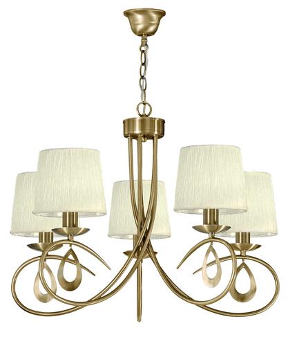 Arnika Hanging Lamp 5X40W E14 Patina / Cream