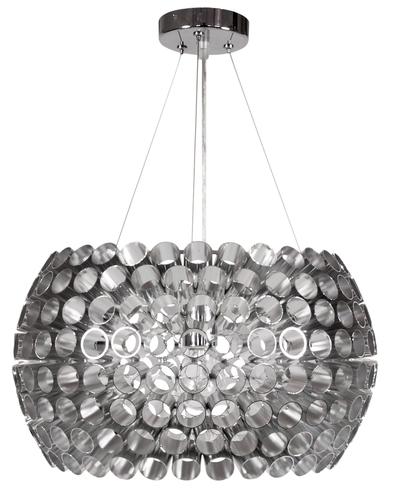 Abros Pendant Lamp 40 1X60W E27 Silver
