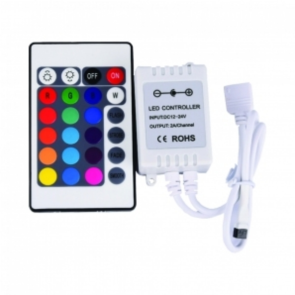 The driver of the IP20 RGB LED linear module