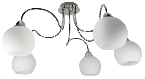 Nelda Pendant Lamp 5X60W E14 Chrome