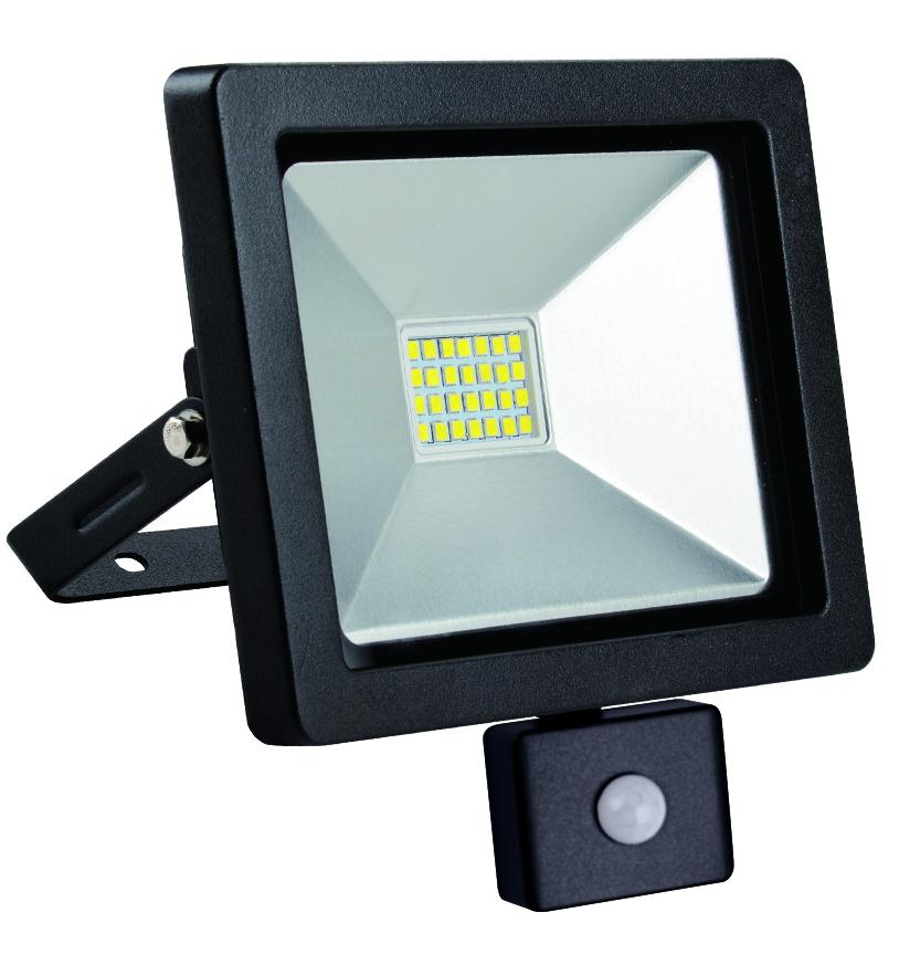 LED floodlight slim with motion sensor 20W / 230V 4000K PIR