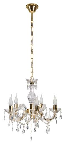 Maria Teresa Pendant Lamp 5X40W E14 Gold