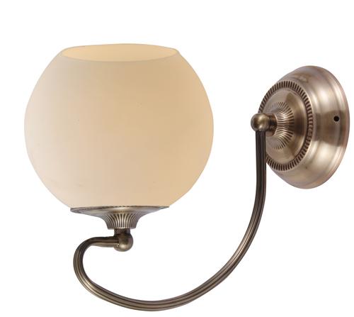 Orbit Lamp Wall Lamp 1X60W E27 Patina Copper