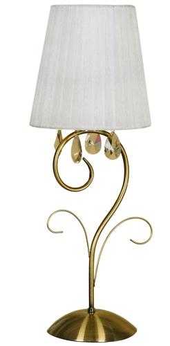 Dynasty Lamp 1X40W E14 Patina H-58