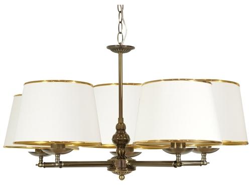 Grand Hanging Lamp 5X40W E14 Patina