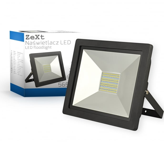 Slim LED floodlight 70W / 230V 6400K