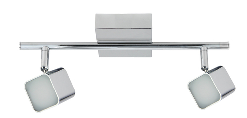 Forma Ceiling Lamp 2X4W Led Chrome Strip