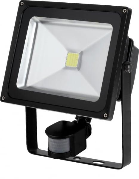 LED floodlight 30W / 230V 6400K with motion sensor