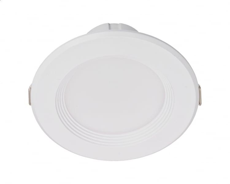 White round LED luminaire 15W 230V IP20 3000K