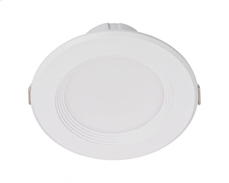 LED white round luminaire 7W 230V IP20 4000K