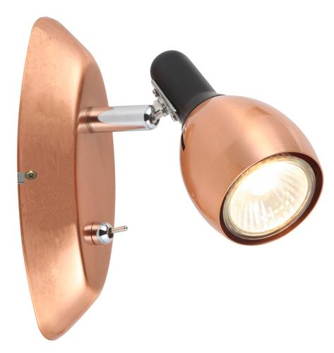 Cross Lamp Wall Lamp 1X50W Gu10 Copper