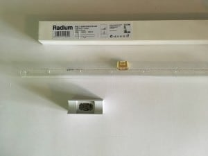 Radium Kristallina RAL 1 60W 230V S14D + Osram 670 small 1