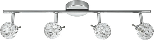 Bombola Ceiling Lamp Strip 4X40W G9 Chrome Without Bulbs