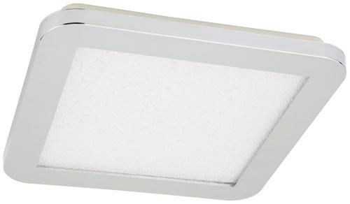 Nexit Ceiling Lamp Plafond 22.5X22.5 12W Led Ip44 Chrome + Granila 3000K