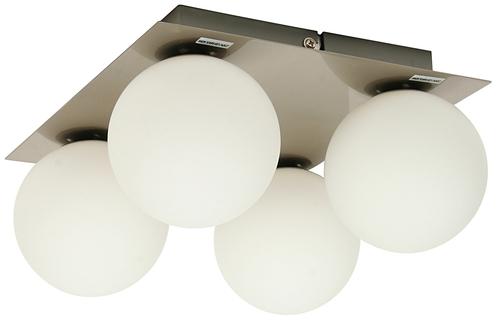 Etiuda Ceiling Lamp Plafond Quadruple Nickel Mat 4Xg9 / 40W 230V