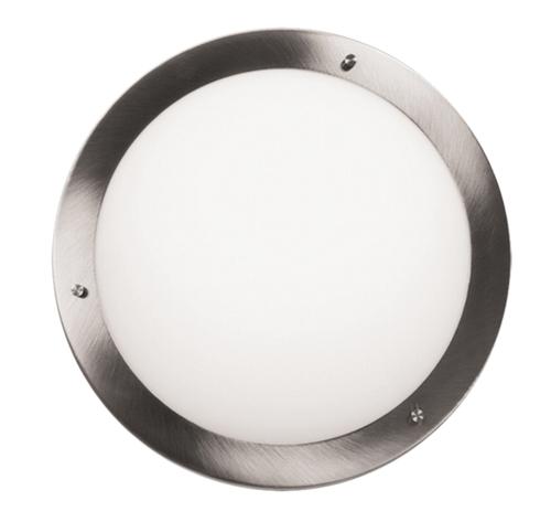 Aquila Ceiling Lamp Plafond 18 1X40W G9 Satin Nickel Ip44 (Bż)