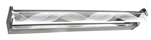 Batik Ceiling Lamp Led Strip 80 Cm 14W Stainless Steel